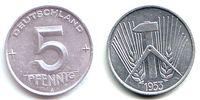 DDR 5 Pfennig 5 Pfennig