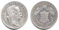 Österreich - Ungarn 1 Forint Franz Joseph I. (1848 - 1916)