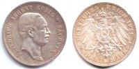 Sachsen 3 Mark Friedrich August III. (1904 - 1918)