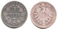 Kaiserreich 1 Mark 1 Mark - kleiner Adler