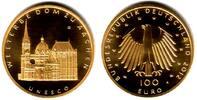 Deutschland 100 Euro 1/2 Unze Goldmünze - Dom zu Aachen