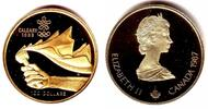 Kanada 100 Dollar Olympische Winterspiele Calgary 1988 - Fackel