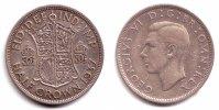 Großbritannien 1/2 Crown George VI. (1936 - 1952)