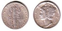 USA 1 Dime Mercury (1916 - 1945) - 1 Dime