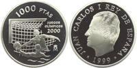 Spanien 1000 Pesetas Olympiade Sydney 2000 - Wasserball