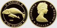 Kanada 100 Dollar 1/4 Unze - Grönlandwale