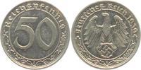Drittes Reich 50 Reichspfennig 50 Reichspfennig - mit Hakenkreuz