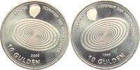 Niederlande 10 Gulden Monatsringe