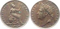 Großbritannien 1 Farthing Georg IV. (1820-1830)