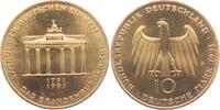 10 Mark 1991 Deutschland Brandenburger Tor bankfrisch  7,50 EUR  zzgl. 2,95 EUR Versand
