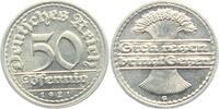 Weimarer Republik 50 Reichspfennig 50 Reichspfennig - Ährenbündel