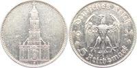 Drittes Reich 5 Reichsmark Garnisonskirche in Potsdam - ohne Datum