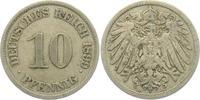 10 Pfennig 1899 J Kaiserreich 10 Pfennig - großer Adler ss  1,95 EUR  +  3,95 EUR shipping
