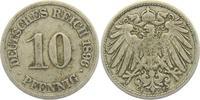 10 Pfennig 1896 F Kaiserreich 10 Pfennig - großer Adler ss  2,95 EUR  +  3,95 EUR shipping