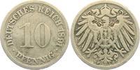 10 Pfennig 1891 F Kaiserreich 10 Pfennig - großer Adler ss  1,95 EUR  +  3,95 EUR shipping