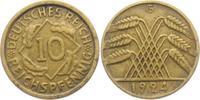 10 Reichspfennig 1924 G Weimarer Republik 10 Reichspfennig - Ährenbünde... 4,95 EUR  zzgl. 2,95 EUR Versand