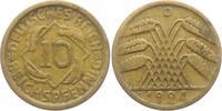10 Reichspfennig 1924 D Weimarer Republik 10 Reichspfennig - Ährenbünde... 2,95 EUR  zzgl. 2,95 EUR Versand