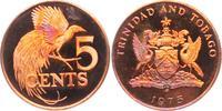 5 Cents angelaufen 1975 Trinidad und Tobago Paradiesvogel - Vögel - Vog... 4,95 EUR  zzgl. 2,95 EUR Versand