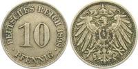 10 Pfennig 1898 F Kaiserreich 10 Pfennig - großer Adler vz  8,00 EUR  zzgl. 2,95 EUR Versand