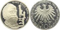10 DM 1988 F Deutschland Carl Zeiss PP  9,95 EUR  zzgl. 2,95 EUR Versand
