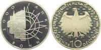 10 DM 1989 D Deutschland 2000 Jahre Bonn PP  9,95 EUR  zzgl. 2,95 EUR Versand