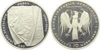 10 DM 1990 J Deutschland 800 Jahre Deutscher Orden PP  9,95 EUR  zzgl. 2,95 EUR Versand