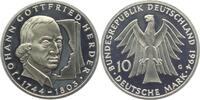 10 DM 1994 G Deutschland 250. Geburtstag von Johann Gottfried Herder PP  9,95 EUR  zzgl. 2,95 EUR Versand