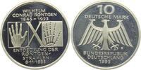 10 DM 1995 D Deutschland Wilhelm Conrad Röntgen - 100 Jahre Röntgenstra... 9,95 EUR  zzgl. 2,95 EUR Versand
