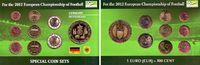 KMS - 3,88 + Medaille versch. Daten Deutschland Fußball EM 2012 in Deut... 9,95 EUR  zzgl. 2,95 EUR Versand