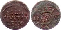 Schilling 1763 ICS Elbing August III. (1733-1763) f.ss  15,00 EUR  zzgl. 4,95 EUR Versand
