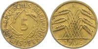 5 Reichspfennig 1935 E Weimarer Republik 5 Reichspfennig - Ährenbündel ... 8,00 EUR  zzgl. 2,95 EUR Versand