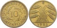 10 Rentenpfennig 1923 G Weimarer Republik 10 Rentenpfennig ss-vz  5,95 EUR  zzgl. 2,95 EUR Versand