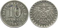 10 Pfennig 1921 A Ersatzmünzen des 1. Weltkrieges 10 Pfennig - mit Perl... 4,95 EUR  zzgl. 2,95 EUR Versand