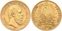 20 Mark 1873 F Württemberg König Karl von Württemberg (1864-1891) ss/Kr... 329,00 EUR  +  9,95 EUR shipping