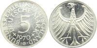 5 Mark 1970 G BRD Silberadler prägefrisch  9,95 EUR  zzgl. 2,95 EUR Versand