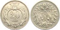 20 Heller 1907 Österreich - Ungarn Franz Joseph I. (1848 - 1916) ss-vz ... 8,00 EUR  zzgl. 2,95 EUR Versand