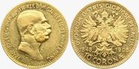 10 Kronen/ Corona 1908 Österreich 60.jähriges Regierungsjubiläum f.vz/K... 179,00 EUR  zzgl. 6,95 EUR Versand