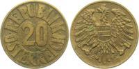 20 Groschen 1954 Österreich  vz  4,00 EUR  zzgl. 2,95 EUR Versand