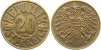 20 Groschen 1950 Österreich  vz min. Kr.  5,00 EUR  zzgl. 2,95 EUR Versand