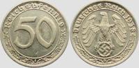 Drittes Reich 50 Pfennig 50 Reichspfennig