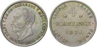 Mecklenburg-Schwerin 4 Schilling Friedrich Franz I. 1785-1837.