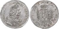 Sachsen-Albertinische Linie 2/3 Taler Johann Georg III. 1680-1691.