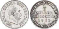 Brandenburg-Preußen 1/2 Silbergroschen Wilhelm I. 1861-1888.