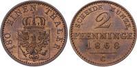 Brandenburg-Preußen 2 Pfennig Wilhelm I. 1861-1888.