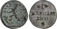 Hessen-Darmstadt Kreuzer Ludwig X. 1790-1806.