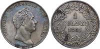 Gulden 1841 Baden-Durlach Leopold 1830-1852. Hübsche Patina. Fast vorzü... 75,00 EUR  plus 5,00 EUR verzending