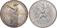 Taler 1862 Frankfurt, Stadt  Prachtexemplar. Minimaler Randfehler, fast... 145,00 EUR  plus 5,00 EUR verzending