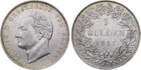 Gulden 1837 Hessen-Darmstadt Ludwig II. 1830-1848. Winziger Randfehler,... 225,00 EUR  plus 7,50 EUR verzending