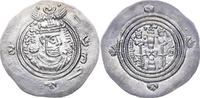 Sassaniden Drachme Khusro II. 590-628.