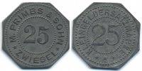 Bayern - Zwiesel 25 Pfennig M. Primbs & Sohn Zwiesel (H.985.3)